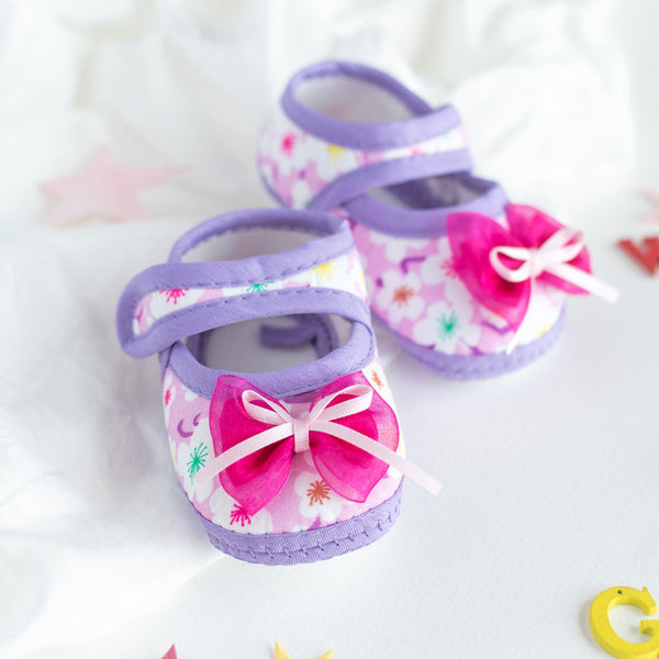 Cute Bow Baby Anti-Slip Shoes