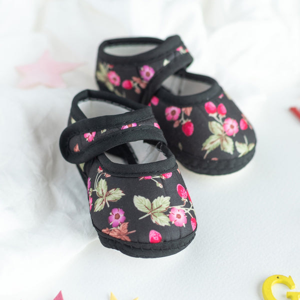 Floral Print Baby Anti-Slip Shoes