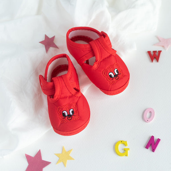Cat Embroidery Baby Anti-Slip Shoes