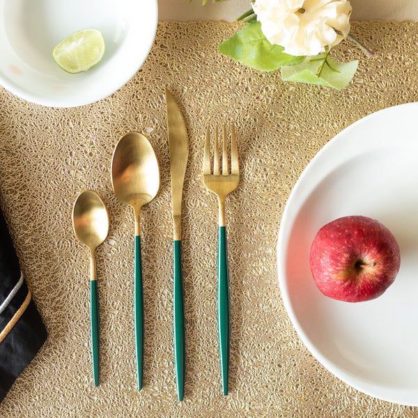 Emerald Cutlery Set