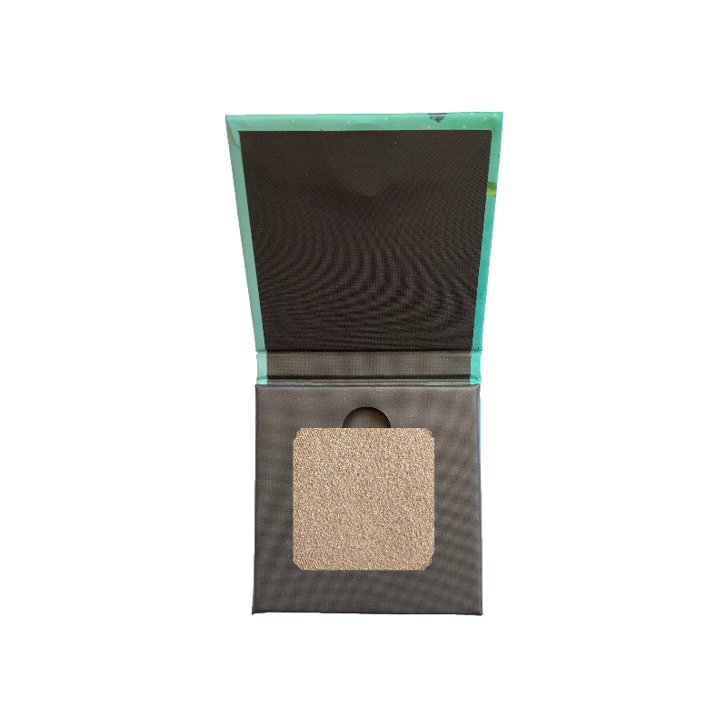 Satin Smooth Eyeshadow Squares- Frosted Cream Cashew 201