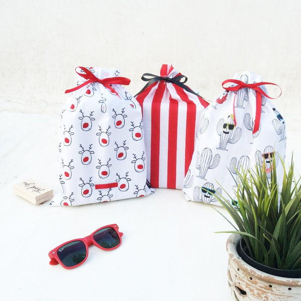 UTILITY BAGS (CRAZY FOR YOU) - Pack of 3