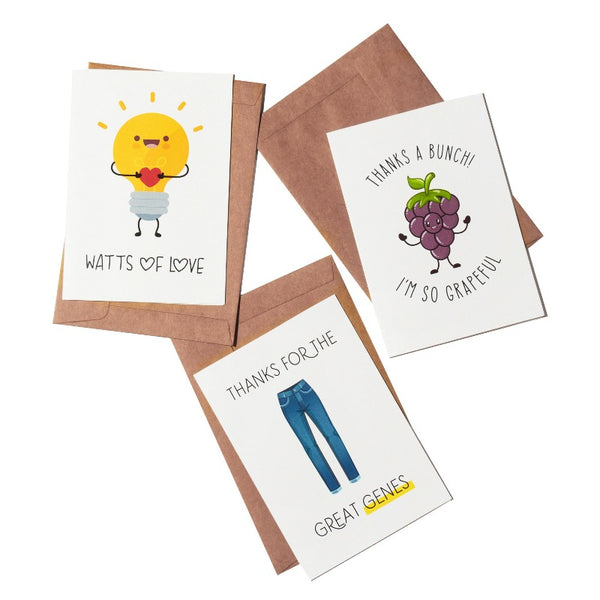 Gratitude Greeting Card- Set of 3