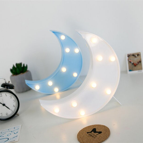 Moon - Marquee Light
