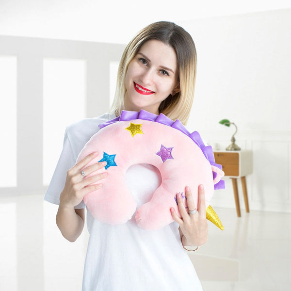 Unicorn Plush Neck Pillow