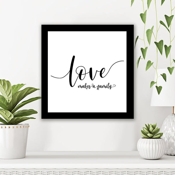 Love Makes Family - Photo Frame