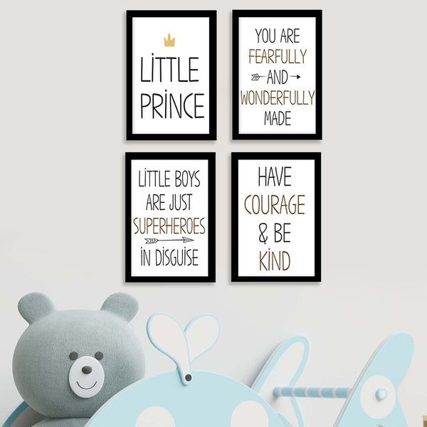 Little Prince  - Photo Frame Set of 4