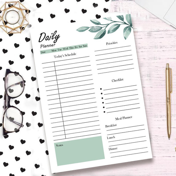 Tropical Daily Planner