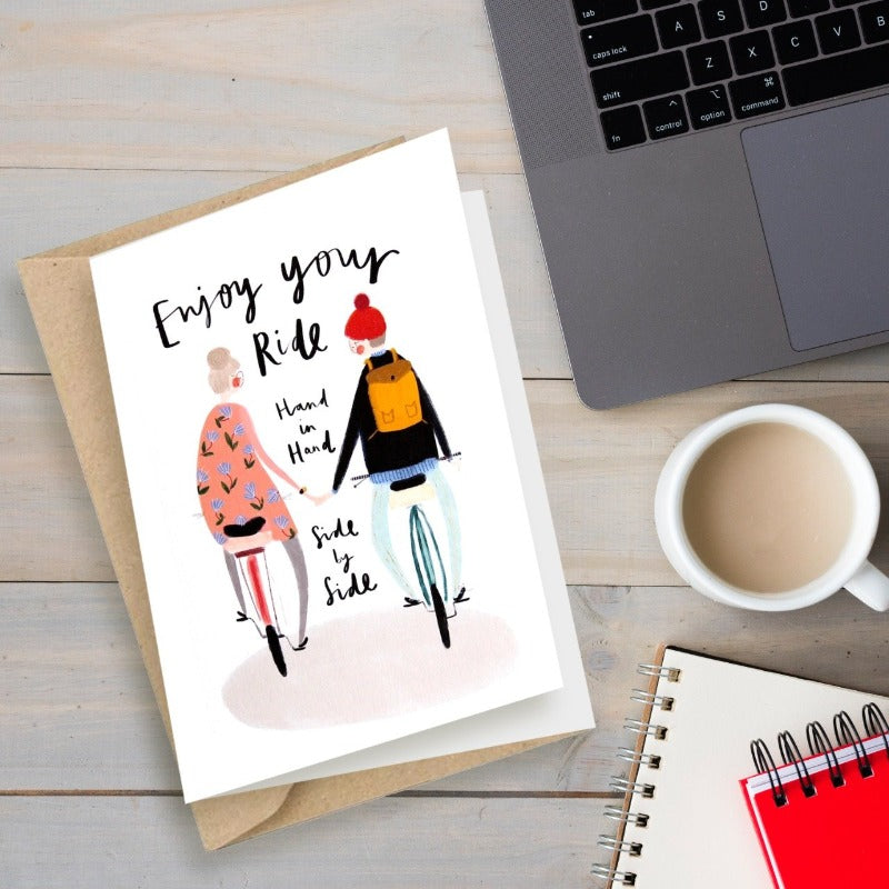Ride Together - Greeting Card