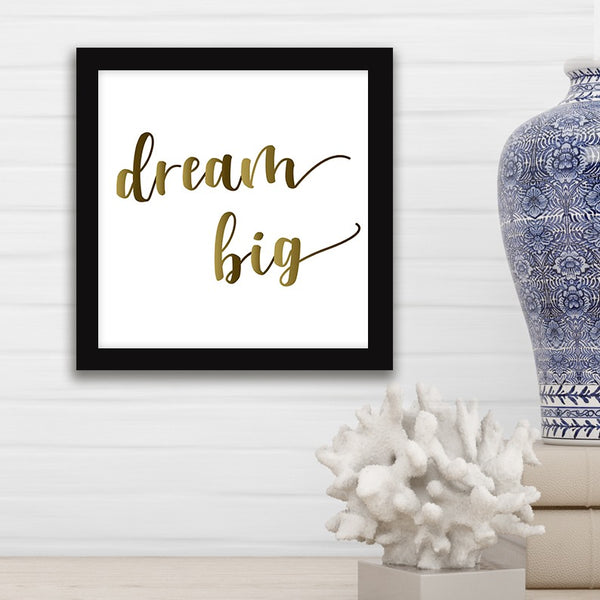 Dream Big - Photo Frame