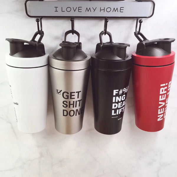 Cool Typography Flask - The June Shop