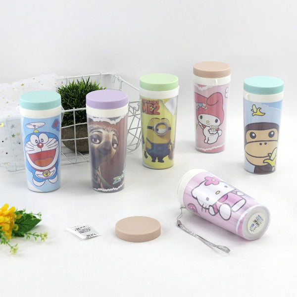 Cartoon Print Bottles - The June Shop