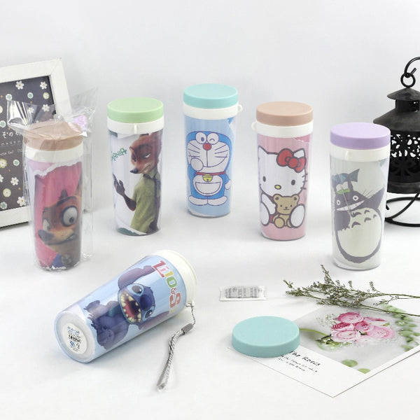 Cartoon Character Print Bottles - The June Shop