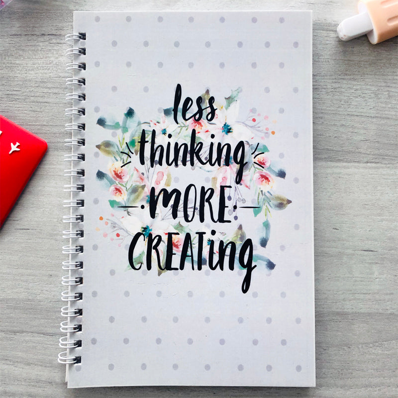 Less thinking more creating - Wiro Notebook