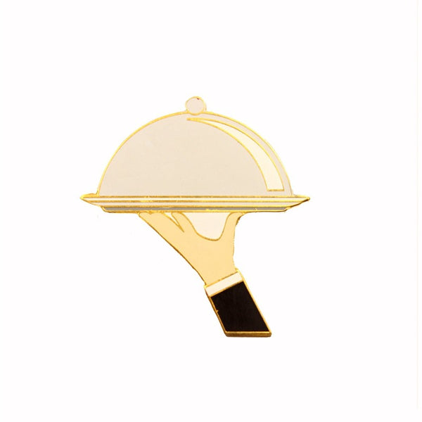 Chef Tray Lapel Pin