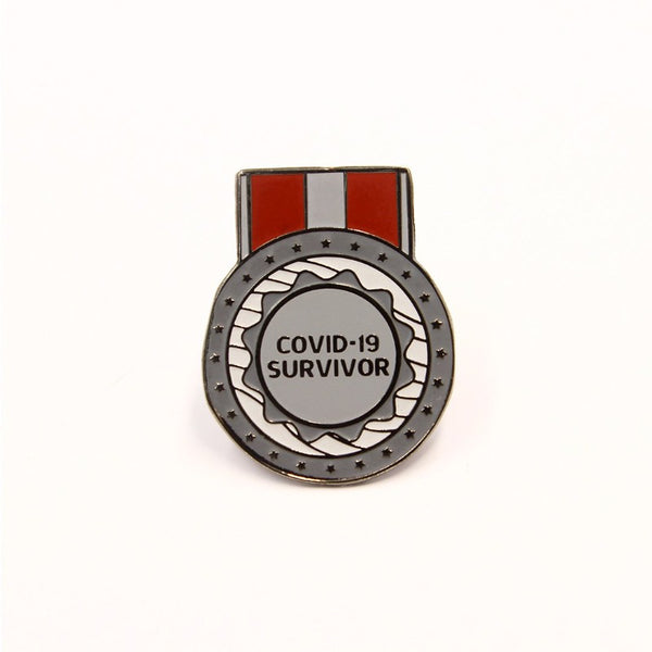 Covid-19 Survivor Lapel Pin