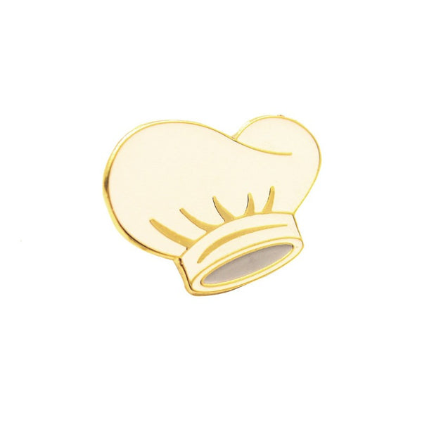Chef Cap Lapel Pin