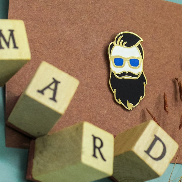 The Beardman Pin