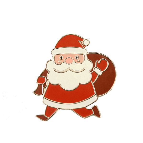 Santa Claus Lapel Pin