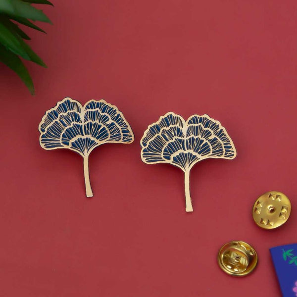Gingko Leaf Lapel Pin