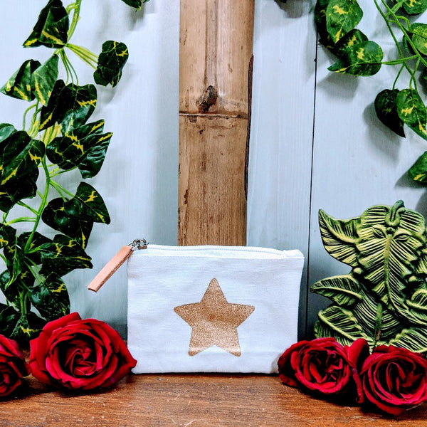 Star Handy Cosmetic Bag | Credit Card Holder | Cash Coin Wallet