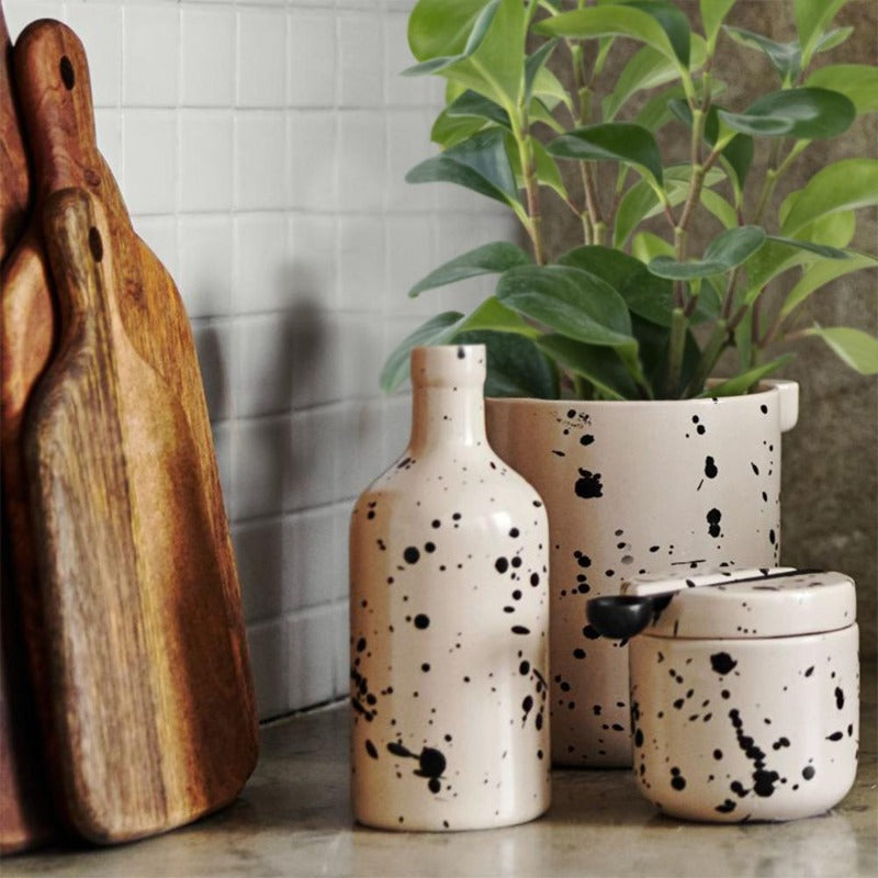 Paint Splatter Planter