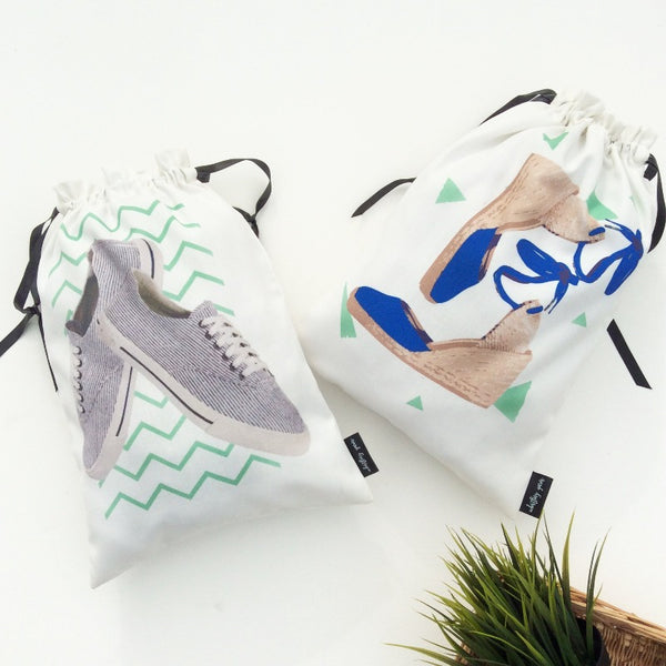 SHOE BAGS (CRAZY DUO) - Pack of 2
