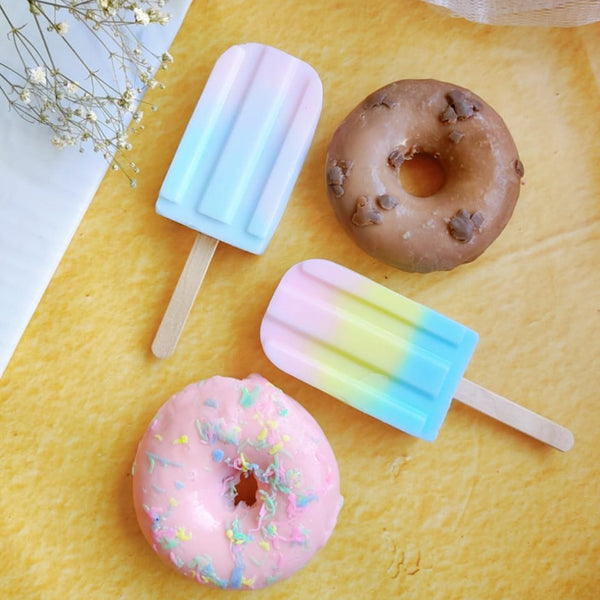 Delicious Popsicle & Sprinkled Donut Soap