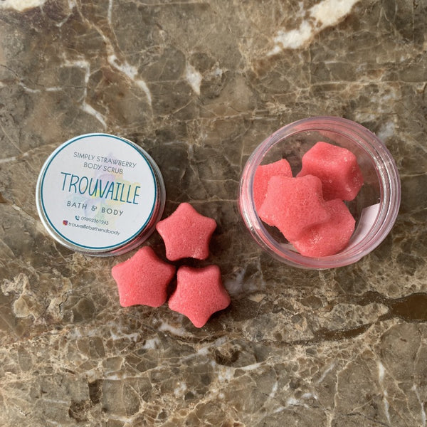 Strawberry Scrub Stars