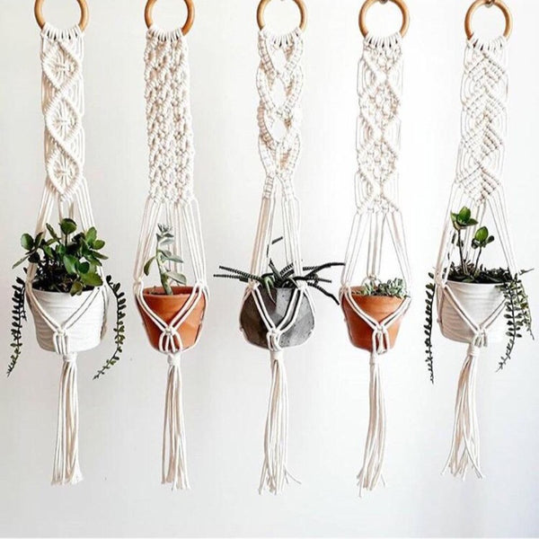 Macrame Yenn Single Plant Hanger