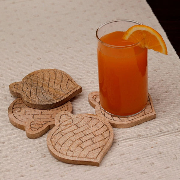 Conch Shell Shaped Coaster (Set of 4)