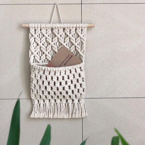 Macrame Envelope Holder