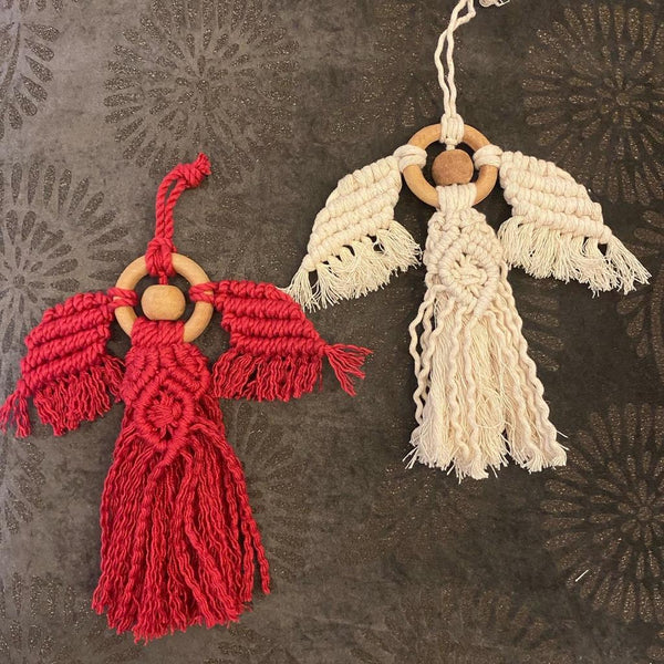 Macrame Guardian Angel