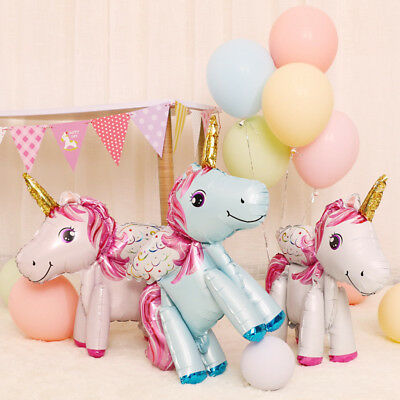White Unicorn Balloon