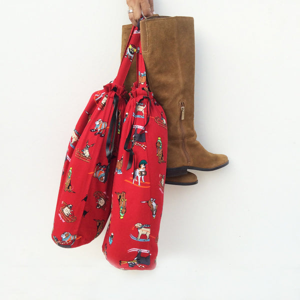 BOOT BAGS (Dogs Skiing)
