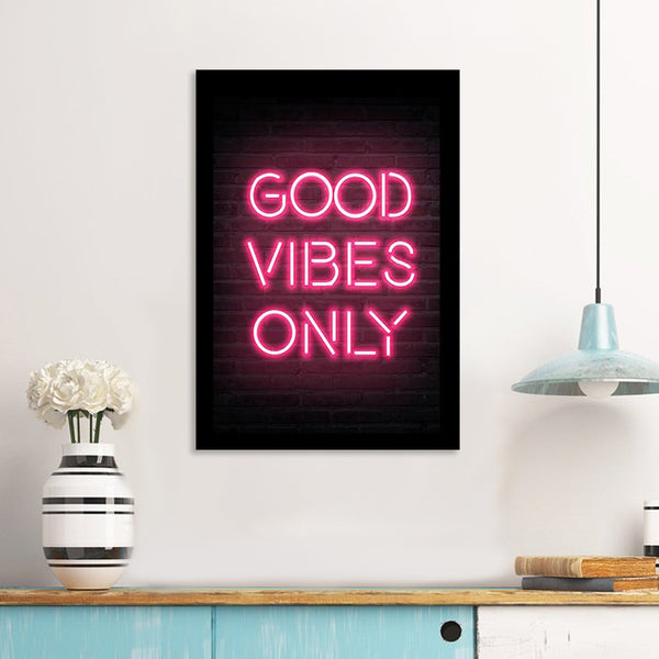 Good Vibes Only- Photo Frame