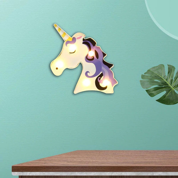Unicorn - Marquee Light (Purple)