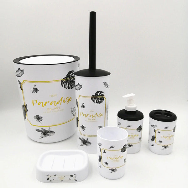 Paradise Bathroom Set (6 pcs)