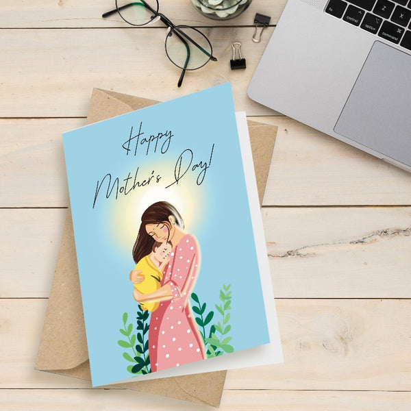 Protective Mother - Greeting Card
