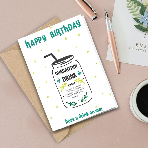 Happy Birthday  - Greeting Card