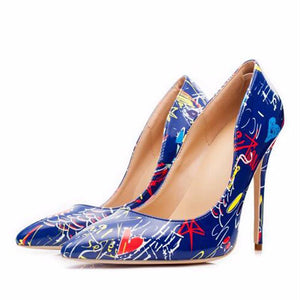 Women Fashion Pointed Shallow Mouth High Heels