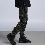 Camouflage Big Side Pockets Tatical Trousers