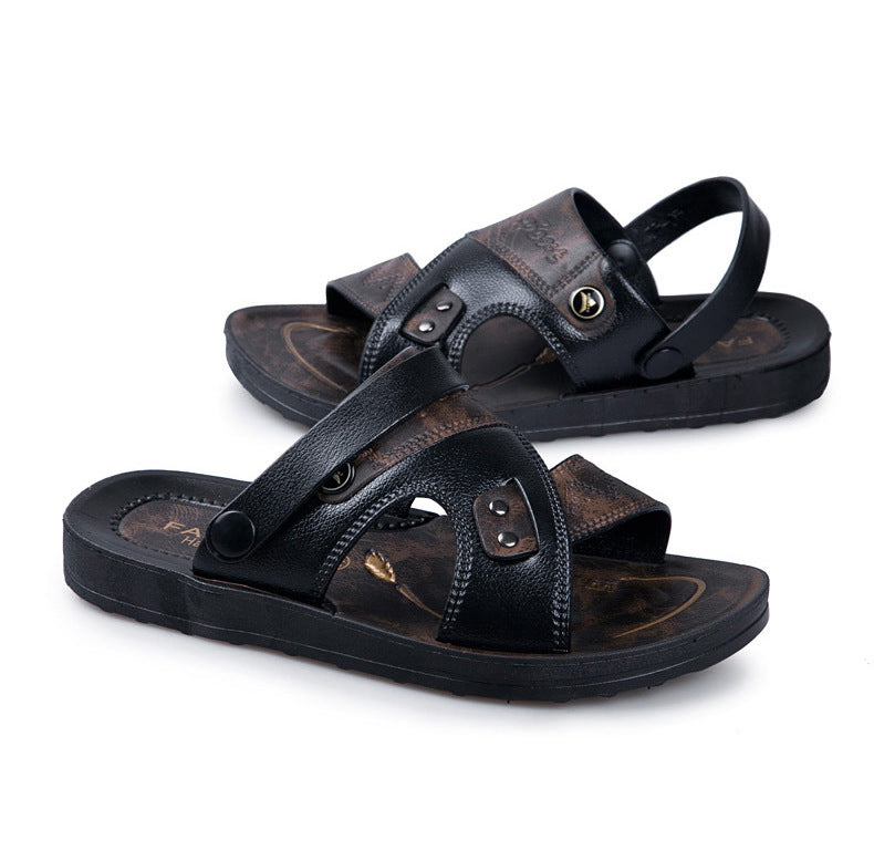 Summer Casual Leather Sandals