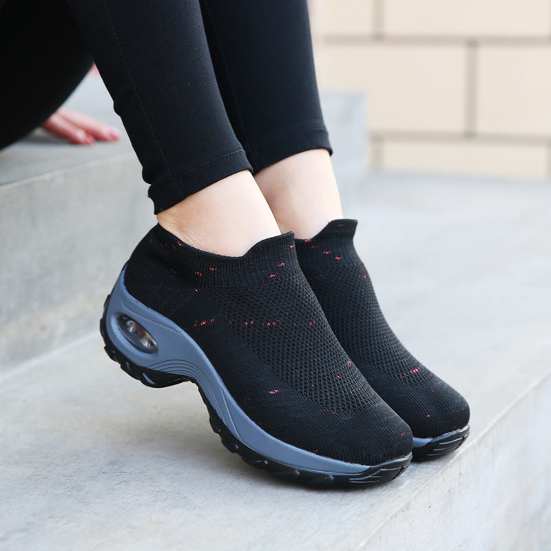 Breathable Air Cushion Sport Shoes Plus Size 35-43