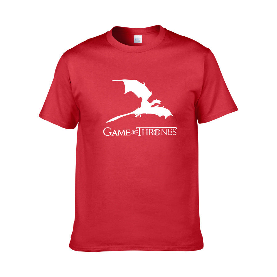 Game of Thrones Dragon Printed T-shirt