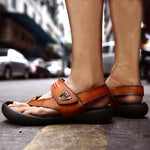 New Summer Fashion Casual Genuine Leather Sandals