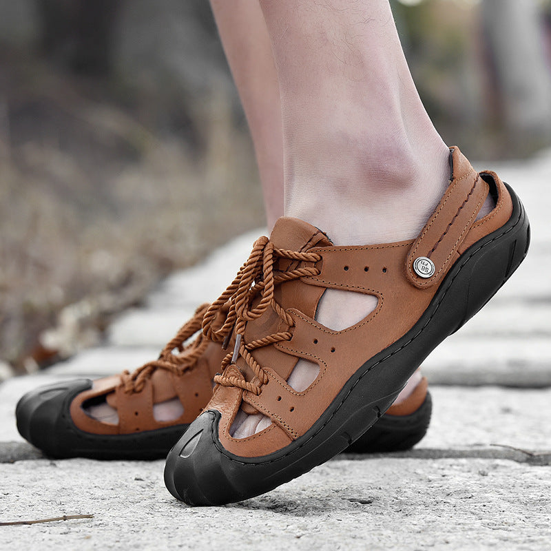 New Outdoor Hiking Leather Sandals