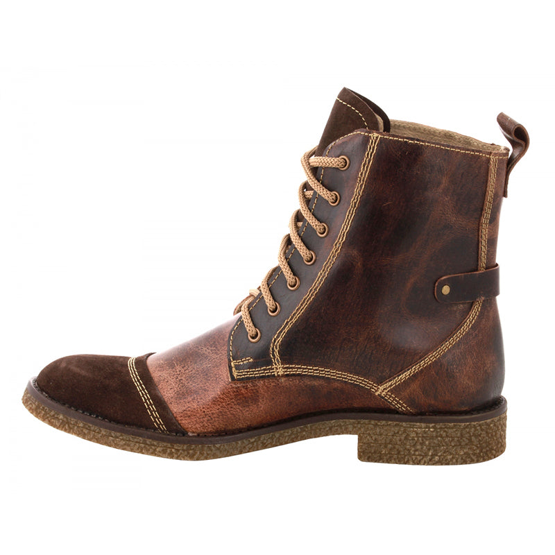 Women's Genuine Brown Leather Boots