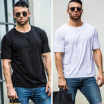 Men Short Sleeve Cotton T shirt