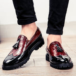 Fashion Tassel Leather Loafers